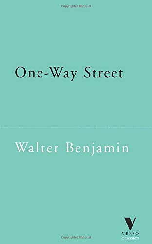9781859841976: One-way Street and Other Writings (Verso Classics)