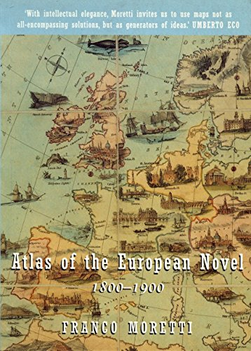 9781859842249: Atlas of the European Novel 1800-1900