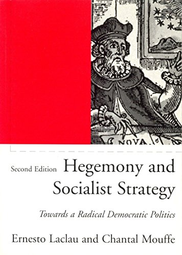 9781859843307: Hegemony and Socialist Strategy: Towards a Radical Democratic Politics
