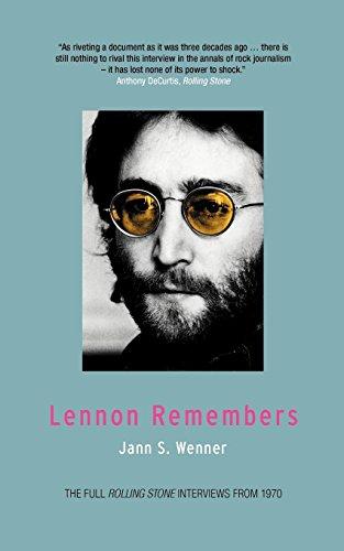 Lennon Remembers: Jann Wenner; Jann