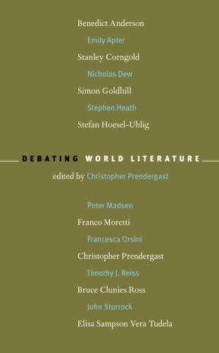 9781859844588: Debating World Literature