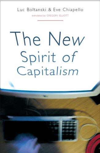 9781859845547: The New Spirit of Capitalism
