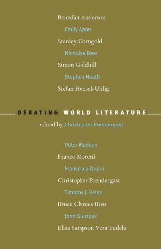 9781859845929: Debating World Literature