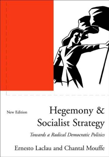 9781859846216: Hegemony and Socialist Strategy: Towards a Radical Democratic Politics