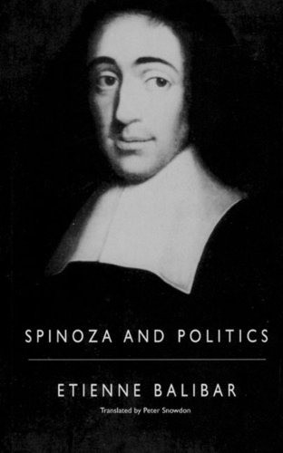 9781859848012: Spinoza and Politics