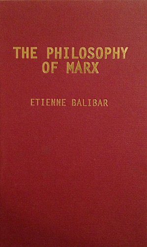9781859849514: The Philosophy of Marx