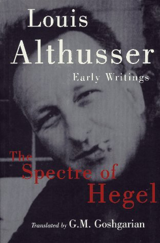 9781859849644: The Spectre of Hegel: Early Writings