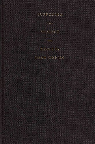 9781859849804: Supposing the Subject (S Series)