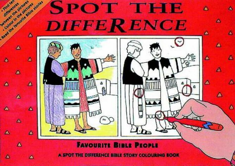 9781859850626: Spot the Difference: Favourite Bible People (Spot the Difference)