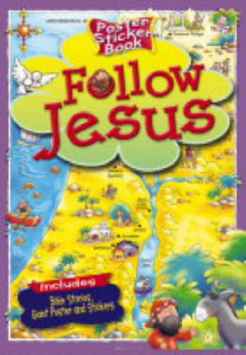 9781859855294: Follow Jesus (Poster Sticker Book)