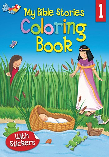 9781859855690: My Bible Stories Coloring Book 1