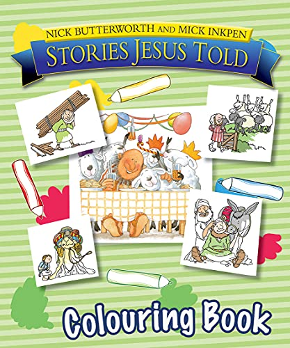 9781859856536: Stories Jesus Told Colouring Book