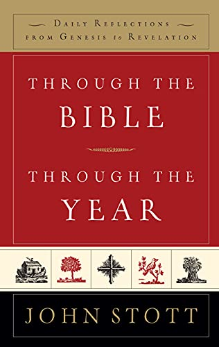9781859856581: Through the Bible, Through the Year: Daily Reflections From Genesis to Revelation