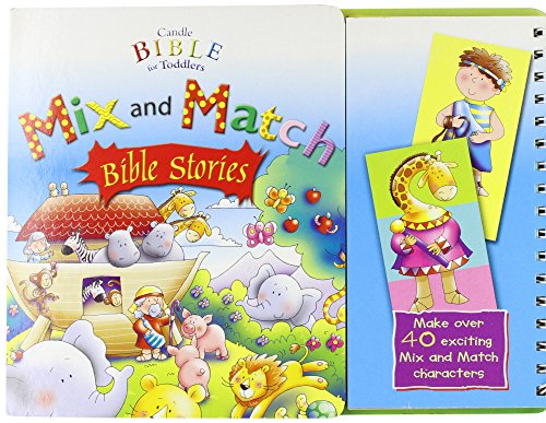 9781859856765: Mix and Match Bible Stories (Candle Bible for Toddlers) (Candle Bible for Toddlers)