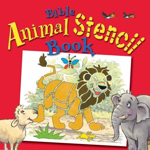 9781859856895: Bible Animal Stencil Book