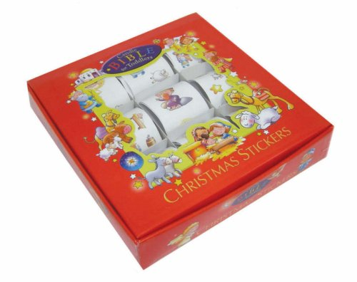9781859857632: Candle Bible for Toddlers Christmas Sticker Gift Set