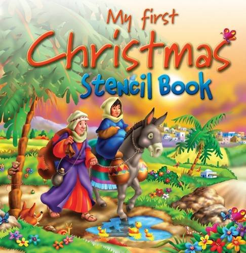 9781859857984: My First Christmas Stencil Book