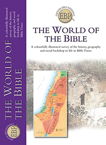 9781859858127: The World of the Bible (Essential Bible Reference)