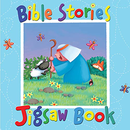 9781859858363: Bible Stories Jigsaw Book: Illustrated by Sarah Pitt