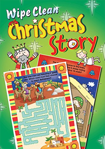 Wipe Clean Christmas Story: Juliet David