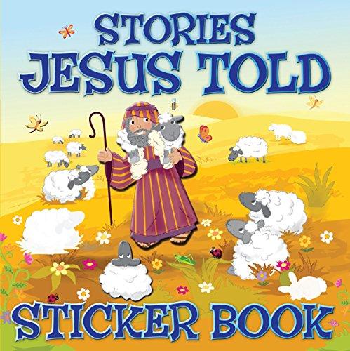 9781859859308: Stories Jesus Told Sticker Book