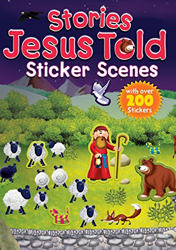 9781859859476: Stories Jesus Told Sticker Scenes