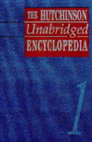 9781859860274: The Hutchinson Unabridged Encyclopedia (Helicon General Encyclopedias)