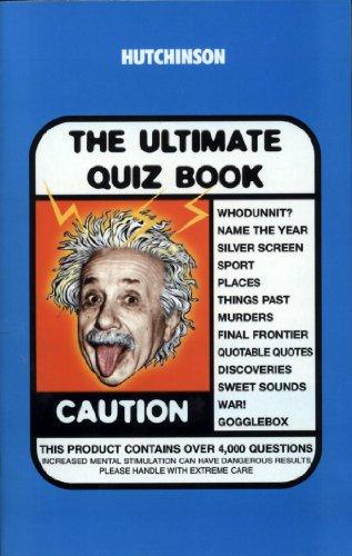9781859864197: The Hutchinson Ultimate Quiz Book