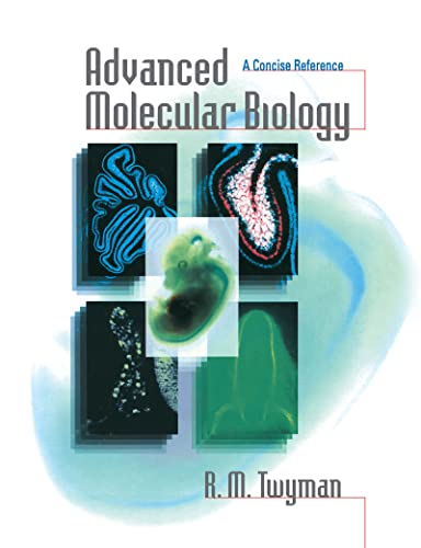 9781859961414: Advanced Molecular Biology: A Concise Reference