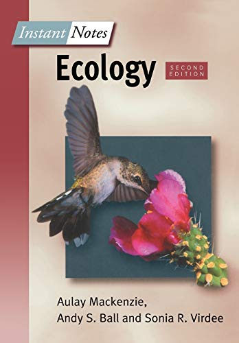 BIOS Instant Notes in Ecology: MacKenzie, Aulay; Ball,