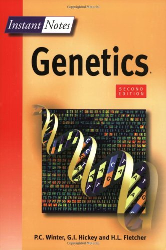 9781859962626: BIOS Instant Notes in Genetics