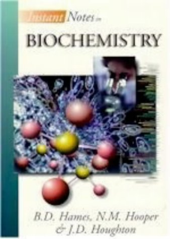 Instant Notes in Biochemistry: N.M. Hooper B.D.