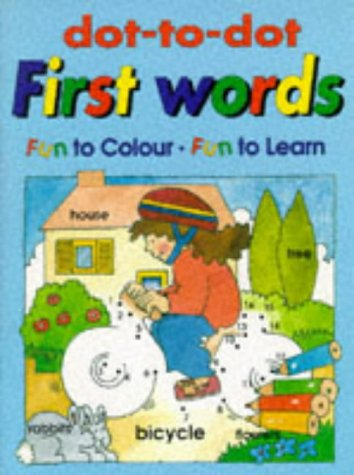 9781859970850: Dot to Dot: First Words (Usborne Dot-to-dot)