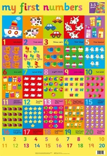 9781859971192: First Words Wall Chart (Wall Charts)