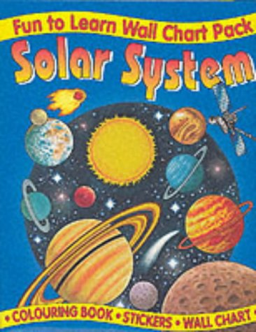9781859972724: Solar System Wall Chart Pack (Fun to Learn Wall Chart)