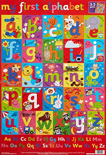 9781859972908: Learn the Alphabet Wall Chart (Wall Charts)