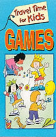9781859973103: Games Pad (Travel Time for Kids)