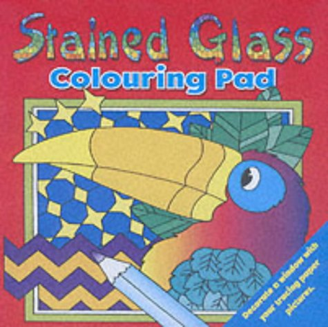 9781859975688: Stained Glass Colouring Pad 2 (Stained Glass Window Pictures)
