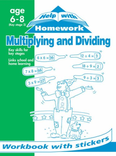 Multiplying and Dividing (Help with Homework)