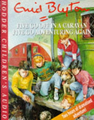 9781859980576: Five Go Off in a Caravan/ Five Go Adventuring Again (Famous Five)