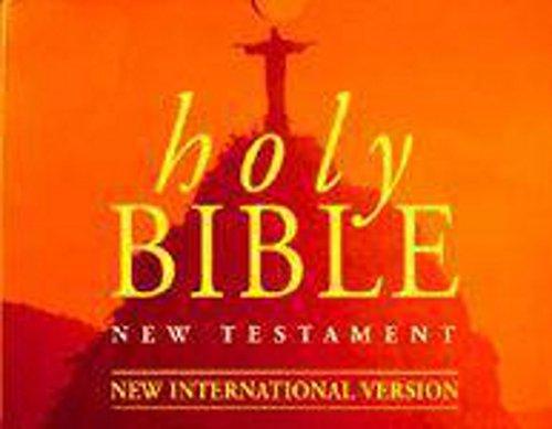 9781859982136: Holy Bible New Testament: New International Version (Hodder Christian audio)