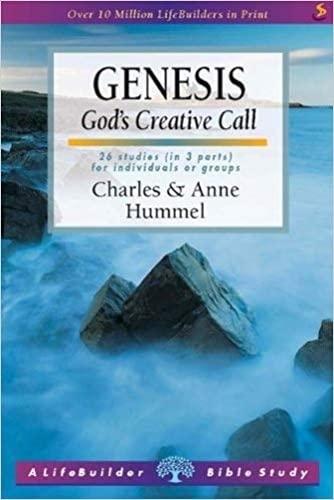 9781859993897: Genesis: God's Creative Call (Lifebuilder)