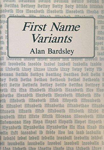 First Name Variants: Bardsley, Alan