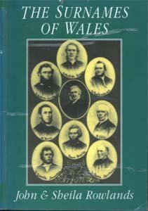Surnames of Wales (9781860060250) by Rowlands, John