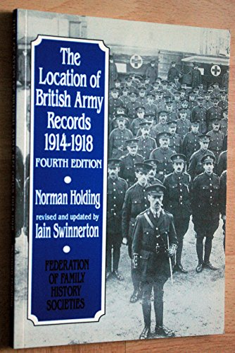 9781860061059: Locations of British Army Records