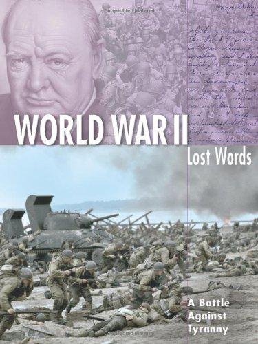 9781860078361: World War II (Lost Words)