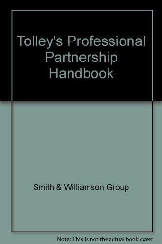 Professional Partnership Handboob: SMITH & WILLIAMSON