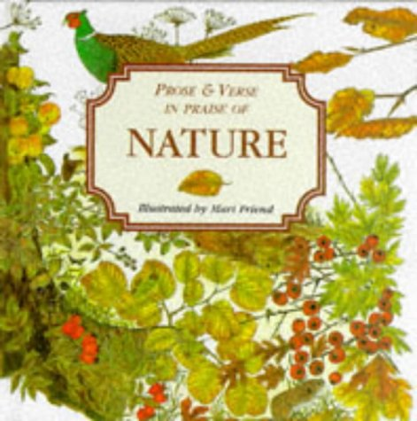 Prose and Verse in Praise of Nature
