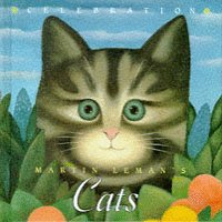 9781860194665: Martin Leman's Cats (Notelet series)