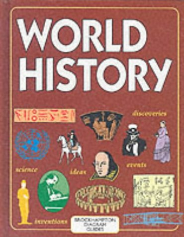 9781860198168: World History (Brockhampton Diagram Guides)